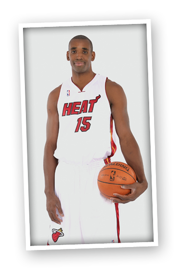 Mark Blount #15 of the Miami Heat poses for a portrait during NBA Media Day on September 26, 2008 at the American Airlines Arena  in Miami, Florida.
